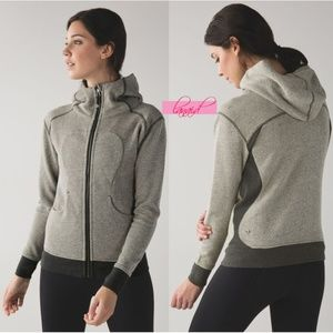 Lulu On The Daily Hoodie Sweatshirt Jacket Scuba